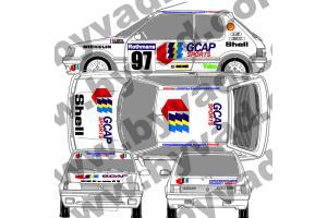 Kit déco Peugeot 205 GCAP SPORT