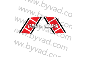 Kit complet stickers YAMAHA 125 YZ H 1981