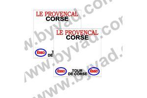 2 Fonds de portière tour de Corse 1975