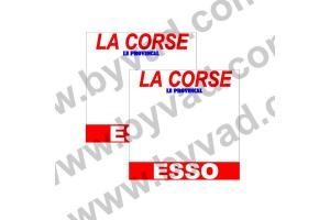 2 Fonds de portière tour de Corse 1979
