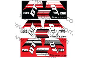 Kit sticker Yamaha 50 DT 1981 DTMX