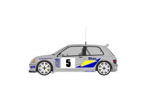 Kit déco Clio Diac - Var 1994 - Bugalski / Renaud
