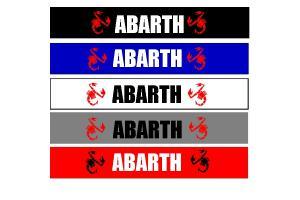 Bandeau pare soleil Scorpion Abarth