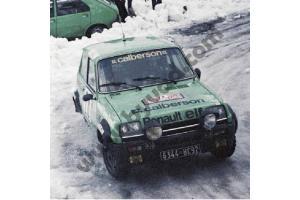Kit déco R5 Alpine Monte Carlo 1979