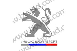 Sticker de toit Peugeot Sport 2015