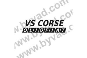 1 Sticker VS CORSE OLIO FIAT