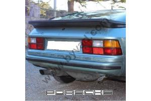 """autocollant arrière """"PORSCHE"""" pour 924 et 944 avec bandes"""