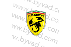 Sticker Ferrari ABARTH