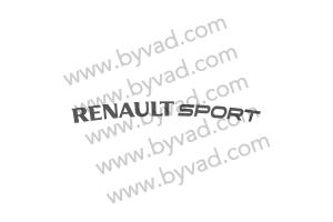 Sticker Renault Sport  pour aileron clio 3 cup