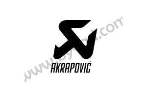 2 stickers Akrapovic
