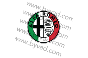 Autocollant Alfa Roméo ITALIA