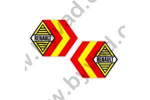 Autocollant Renault Espagne Compétition x 2