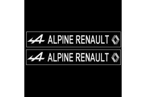 Autocollant ALPINE RENAULT modèle 2