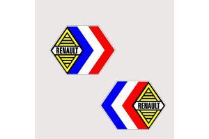 Autocollant Renault Compétition x 2