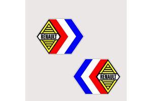 Autocollant Renault Compétition x 2 modèle 3