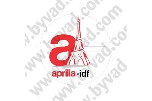 Sticker APRILIA IDF grand format