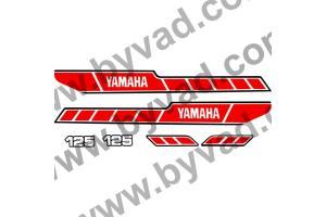 Kit complet stickers YAMAHA 125 RDX 1978