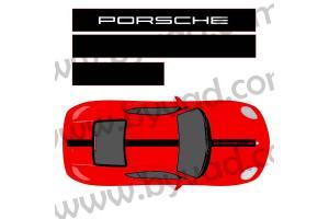 Bandes de Toit Porsche