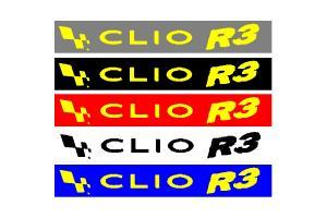 Bandeau pare soleil Renault Clio R3
