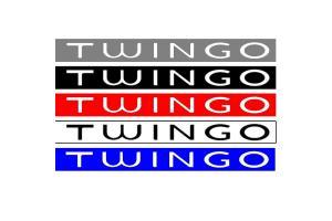 Bandeau pare soleil Renault Twingo