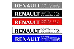Bandeau pare soleil Renault Williams