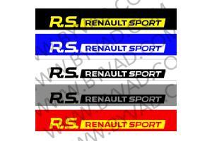Bandeau pare soleil RS Renault Sport