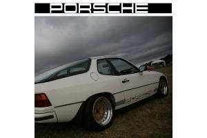 Bandes latérales Porsche 924