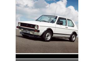 Bandes latérales Golf 1 GTI