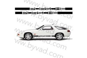 Bandes latérales Porsche 928