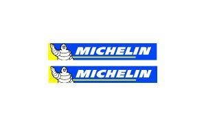 2 Stickers michelin type WRC