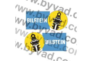 2 stickers logo bilstein