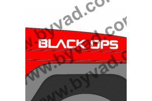 2 Sticker BLACK OPS JEEP