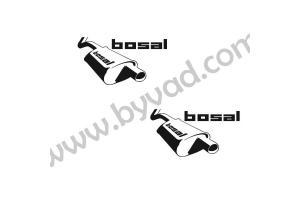 2 Stickers Bbosal