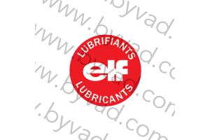 Sticker pour bouchon d'huile ELF LUBRICANTS