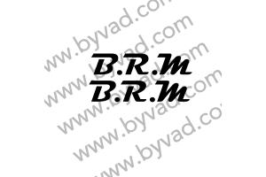 2 stickers BRM