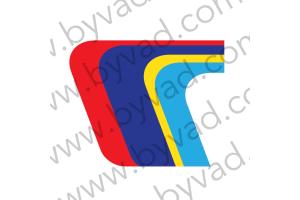 Logo PTS capot style 205 Turbo 16 35 cm