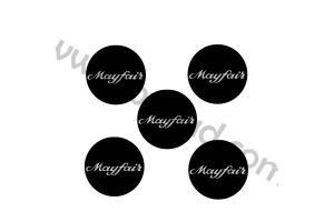 Kit 5 Stickers de Jantes MINI MAYFAIR