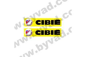 2 Stickers CIBIE SEV