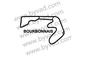 Sticker Circuit Bourbonnais