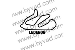 Sticker Circuit Ledenon