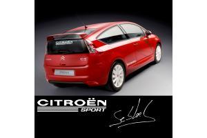 Sticker Citroen Sport - C1 C2 C3 C4 Saxo DS3 Loeb