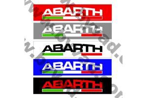 Cache plaque immatriculation FIATABARTH