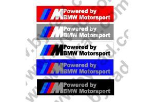 Cache plaque immatriculation Powered by BMW Motorsport