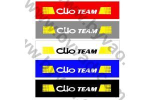 Cache plaque immatriculation Clio TEAM