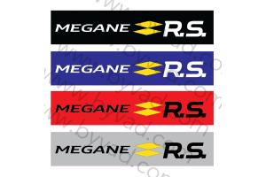 Cache plaque immatriculation MEGANE RS
