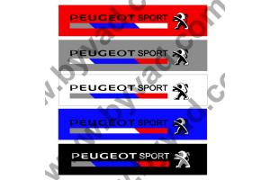 Cache plaque immatriculation PEUGEOT SPORT