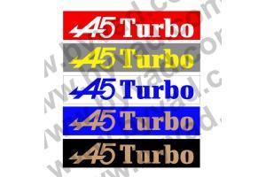 Cache plaque immatriculation Renault R5 Alpine Turbo
