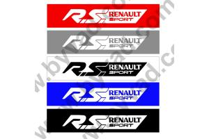 Cache plaque immatriculation RS Renault Sport