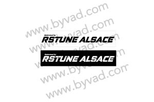 Cache plaque immatriculation RSTune Alsace