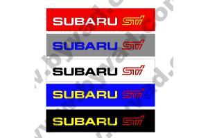 Cache plaque immatriculation SUBARU STI
